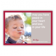 Peace Be In Your Heart Photo