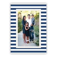 Striped Classic Navy (Folded)