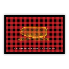 Black and Red Plaid (Large)