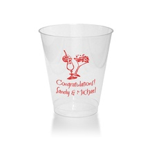 10 Oz. Clear Tumblers - Name ONLY (Set of 50)
