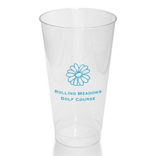 16 Oz. Clear Tumblers - Name ONLY (Set of 50)