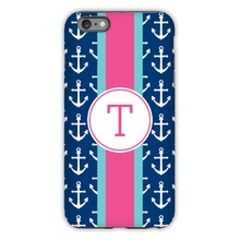 Anchors Ribbon in Navy