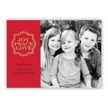 Joy Frame Red Foil