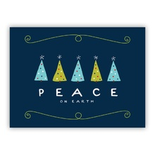 Peace Trees Navy (Folded)