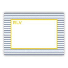 Rope Stripe Navy (Stationery)