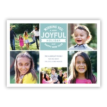 Joyful Stamp Slate Collage