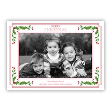 Vintage Holiday Border