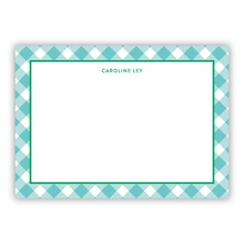 Turquoise Gingham