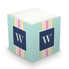 Ribbon Stripe Light Blue