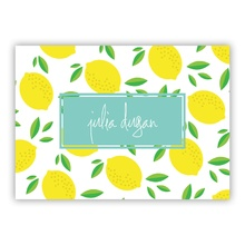 Life's Lemons small folded note