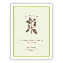 Deck The Halls Greeting Card
