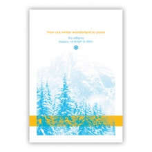 Cold Mountain Greeting Card
