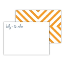 Mini Flat Cards - Chevron