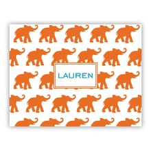 Elephants Orange