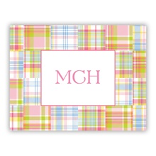 Madras Patch Pink