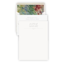 Designer Embossed Stationery Sheets (Style C)