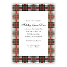 5x7 - Stewart Plaid Holiday Invite