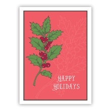 Holly Holidays (Folded)