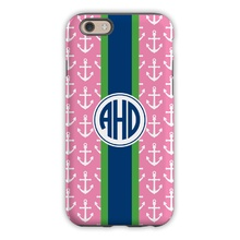 Anchors Ribbon in Pink