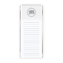 Slender Monogram in holder (150 loose sheets)