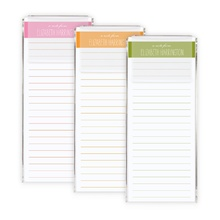 Morgan Stripe Tall Memos in holder (150 loose sheets)
