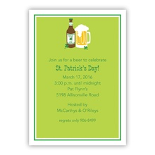 5x7 - Irish Ale (Invitation/Announcement)