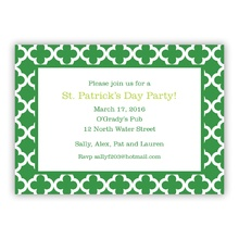Bristol Tile Pine Holiday Invite