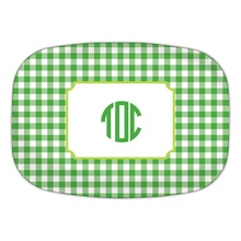 Classic Check Kelly & Lime Monogram