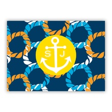 Nautical Knot small folded note