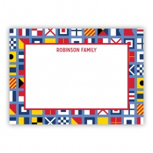 Nautical Flags (Stationery)
