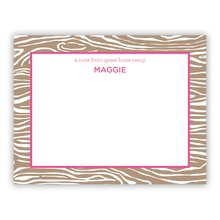 Wood Grain Pink (Stationery)