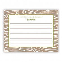 Wood Grain Green (Stationery)