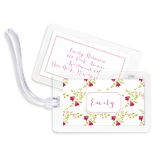 Bag Tags (set of 4) - Camryn Floral