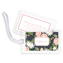 Bag Tags (set of 4) - Lillian Floral