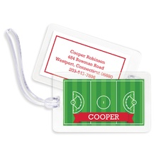 Bag Tags (set of 4) - Lacrosse Field