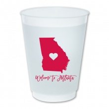 State Love - 16 oz Frosted Cups