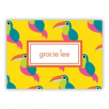 Toucans small folded note