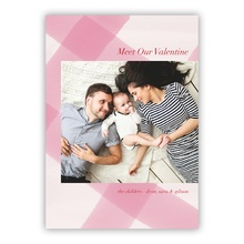 5x7 Flat Photocard - Buffalo Love Pink