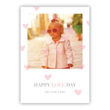 5x7 Flat Photocard - Oh My Heart Pink
