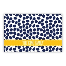 Organic Dots Deep Navy