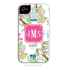 Sleek Cell Phone Case - Chinoiserie Spring