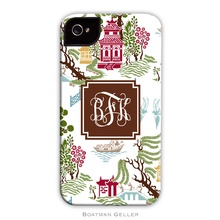 Sleek Cell Phone Case - Chinoiserie Fall