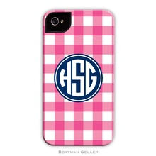 Sleek Cell Phone Case - Classic Check