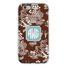 Sleek Cell Phone Case - Chinoiserie
