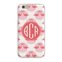 Sleek Cell Phone Case - Flamingos