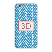 Sleek Cell Phone Case - Herringbone Caroline