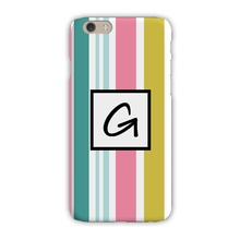 Sleek Cell Phone Case - Cabana Stripe