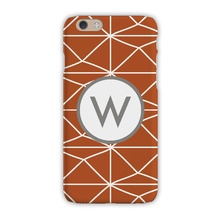 Sleek Cell Phone Case - Pyramids Clay