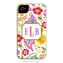 Tough Cell Phone Case - Bright Floral