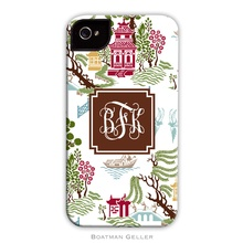 Tough Cell Phone Case - Chinoiserie Fall